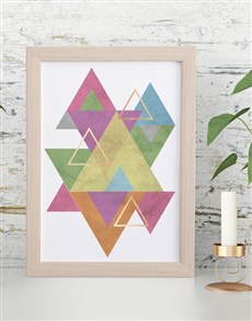 gifts: Shapes Framed Wall Art!