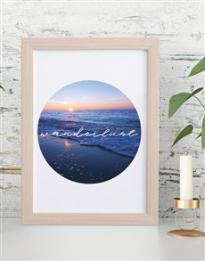 gifts: Wunderlust Framed Wall Art!