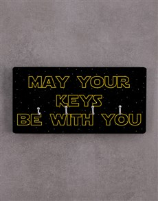 gifts: May Your Keys Be With You Key Holder!