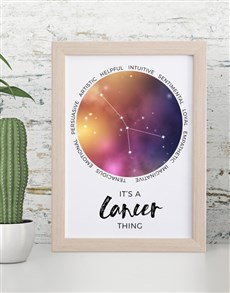 gifts: Cancer Framed Wall Art!