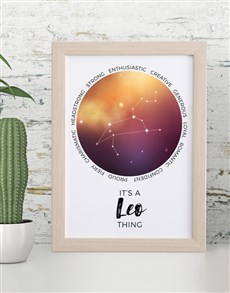 gifts: Leo Framed Wall Art!