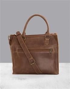 gifts: Zemp Bastille Waxy Tan Handbag!