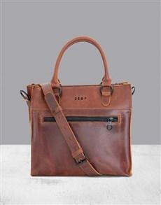 gifts: Zemp Bastille Chestnut Handbag!