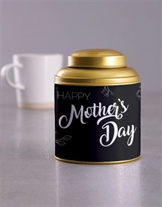 gifts: Mothers Day Gold Tea Tin!
