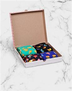 gifts: Happy Socks Junk Food Gift Box!
