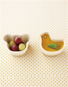 gifts: Le Creuset Set of 2 Baby Rameikens Yellow!