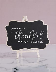 gifts: Blessed Chalk Board!