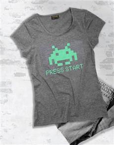 gifts: Retro Gamer Press Start T Shirt!