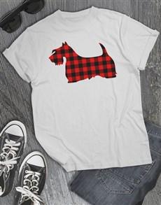 gifts: Scottish Terrier Print T Shirt!
