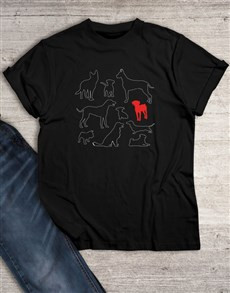 gifts: Doggy Graphic T Shirt!