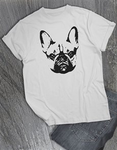 gifts: French Bulldog Graphic T Shirt!