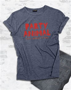 gifts: Party Animal Graphic T Shirt!