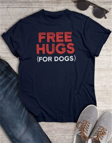 gifts: Free Hugs For Dogs T Shirt!