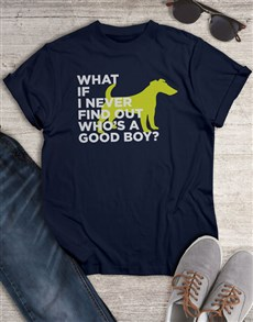 gifts: Find Out Who Is A Good Boy T Shirt!