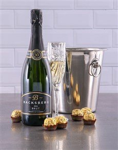 gifts: Backsberg Brut Ice Bucket Gift!