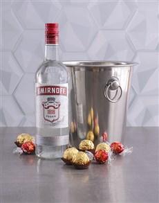 gifts: Smirnoff Vodka Ice Bucket Gift!