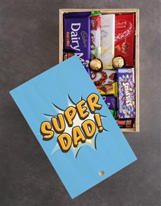 gifts: Super Dad Chocolate Crate!