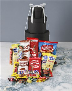 gifts: Happy Anniversary Choco Hat Box Tower!