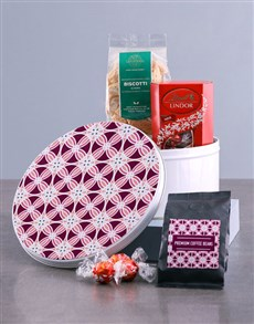 gifts: Purple Premium Coffee Tin Hamper!
