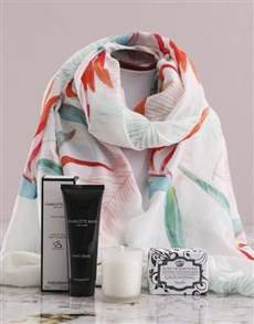 gifts: Paradise Scarf and Charlotte Rhys Gift!