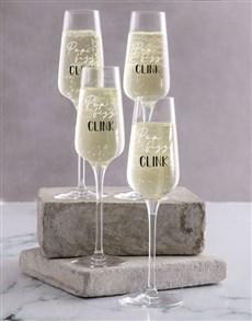 gifts: Celebration Champagne Glass Set!