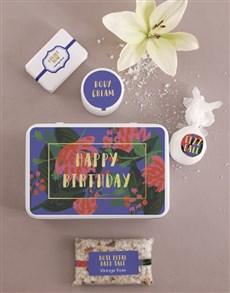 gifts: Birthday Bath and Body Tin!