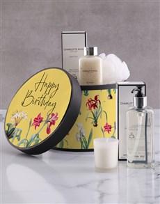 gifts: Charlotte Rhys Happy Birthday Gift Hamper!