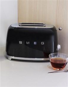 gifts: SMEG Retro 2 Slice Toaster Black!
