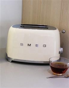 gifts: SMEG Retro 2 Slice Toaster Crème!