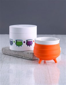 gifts: Orange Potjie Pot And Gourmet Gift!