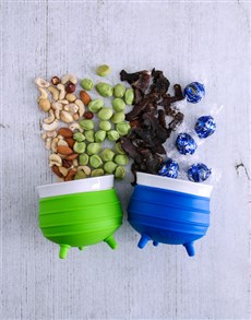 gifts: Blue and Lime Potjie Pot Hamper!