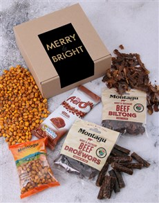 gifts: Merry Christmas Gourmet Combo Box!