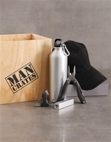 gifts: Great Outdoors Man Crate!