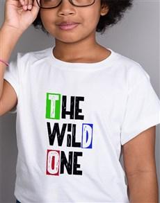 gifts: Wild One Kids White T Shirt!