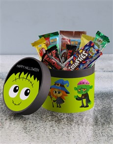 gifts: Happy Halloween Hatbox!