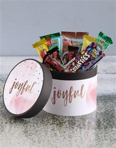 gifts: Pink Joyful Hatbox!