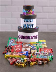 gifts: Hoo Ray Wrap Around Chocolate Tower Box!