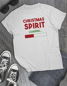 gifts: Christmas Spirit T Shirt!