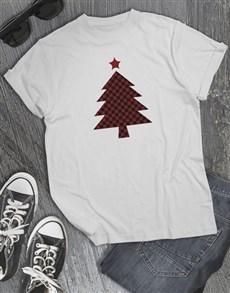 gifts: Tartan Christmas T shirt!