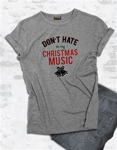 gifts: Christmas Music T Shirt!
