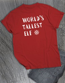 gifts: Tallest Elf T Shirt!