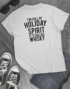 gifts: Holiday Spirit T Shirt!