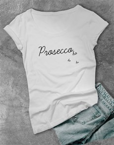 gifts: ProseccHoHoHo Ladies T Shirt!