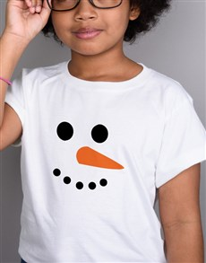 gifts: Snowman Kids T Shirt!