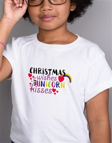 gifts: Unicorn Kisses Kids T Shirt!
