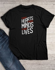 gifts: Change Hearts Change Minds T Shirt!