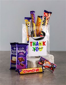 gifts: Thank You Bag of Chocolate Treats!