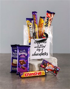 gifts: Bag of Chocolate Happiness!