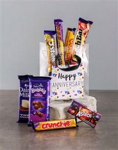gifts: Bag of Anniversary Choc Treats!