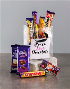 gifts: Peace and Love Choc Bag!